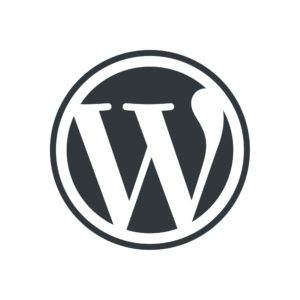 Letter logo - W - WordPress