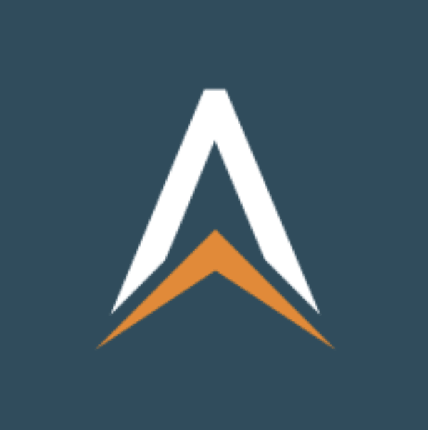 Letter logo - A