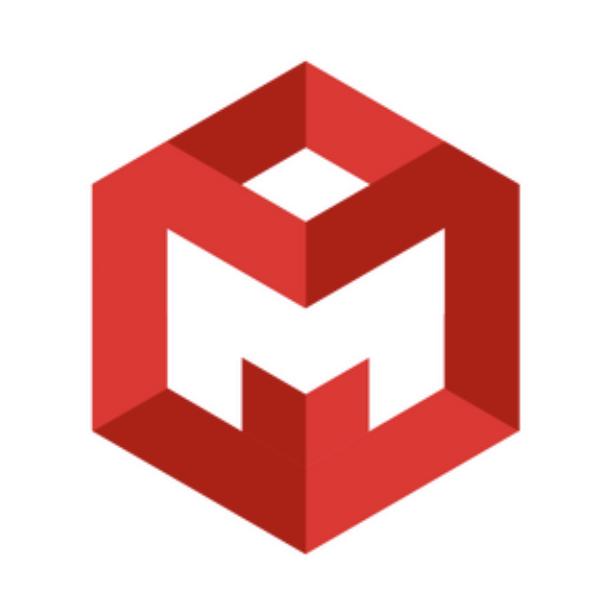 Letter logo - M