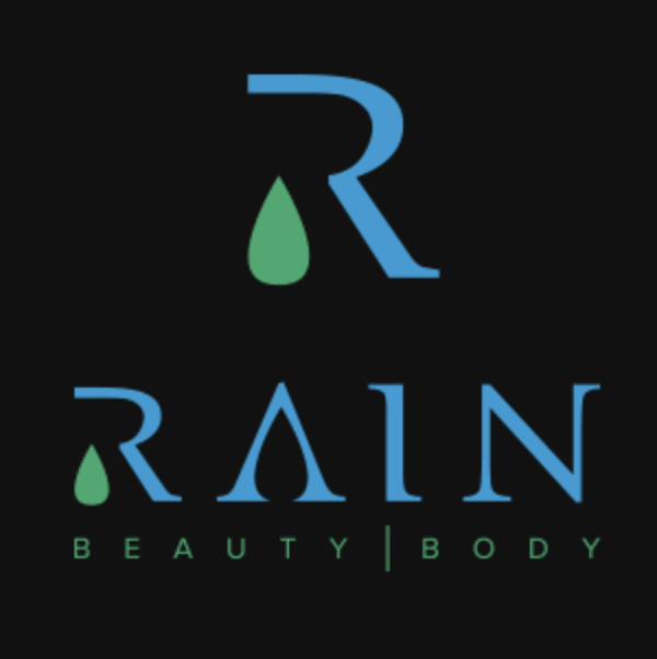 Letter logo - R - Rain