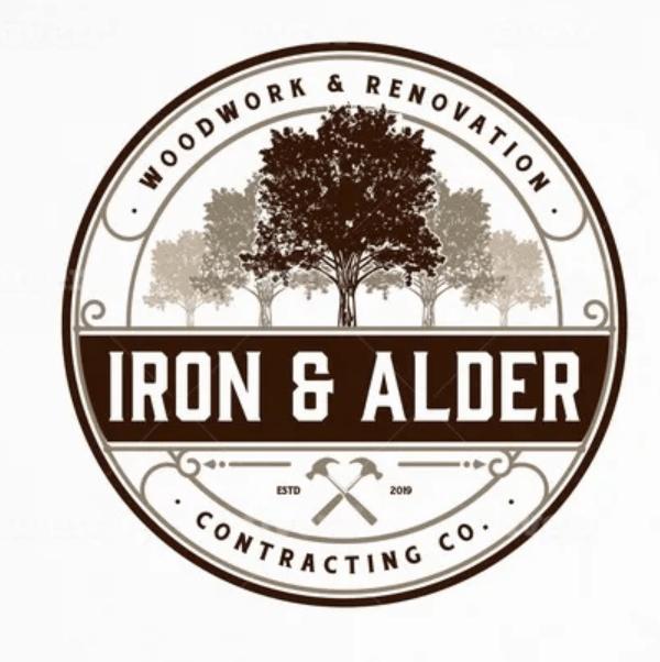 Nature logo - Iron & Alder
