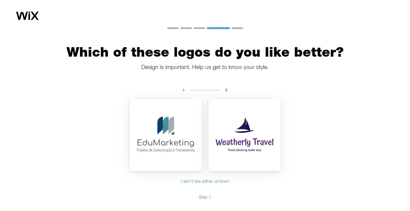 Wix Logo Maker - Logo styles