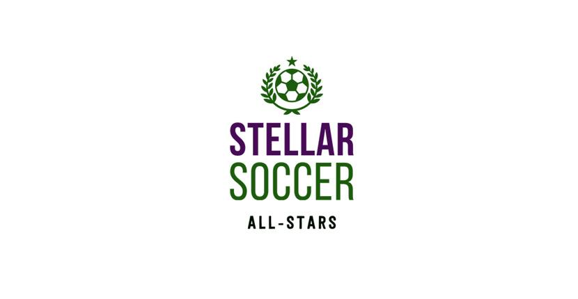 Soccer logo created with Tailor Brands - Stellar Soccer