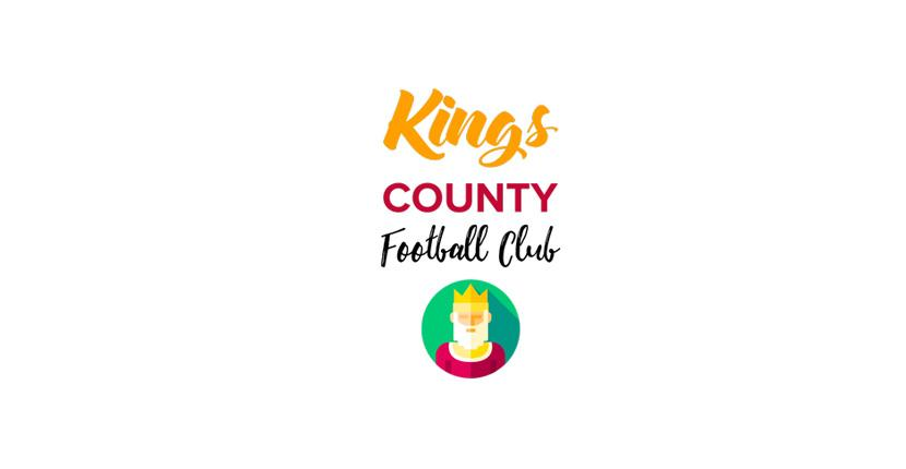 Soccer logo created with Tailor Brands - Kings County Football Club