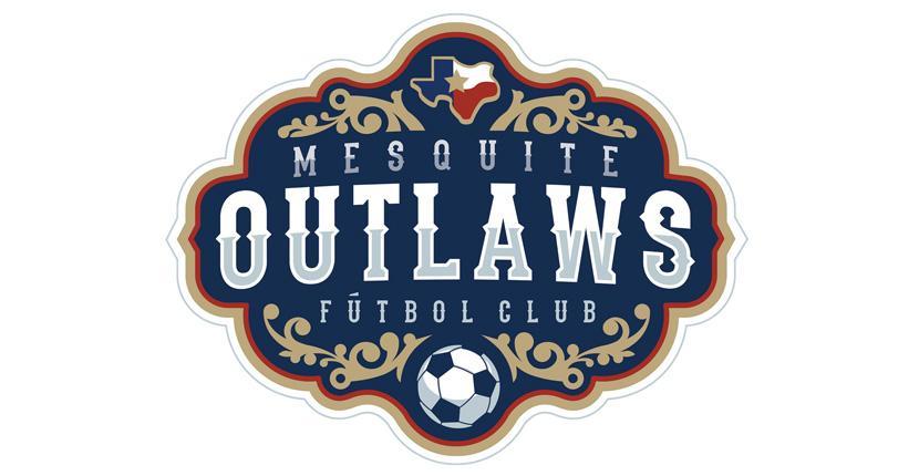 Soccer logo - Mesquite Outlaws