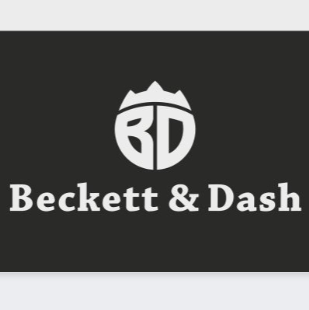 Logo made by designer on Crowdspring - Beckett & Dash