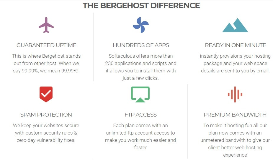 BergeHost Technology Services Overview