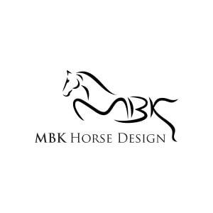 Horse logo - MBK Horse Design