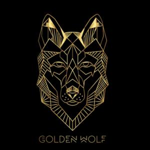 Wolf logo - Golden Wolf