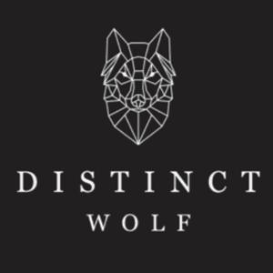 Wolf logo - Distinct Wolf
