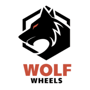 Wolf logo - Wolf Wheels