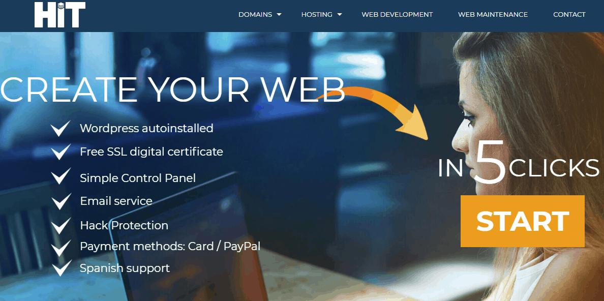 Domain registration web hosting email web development HIT solutions