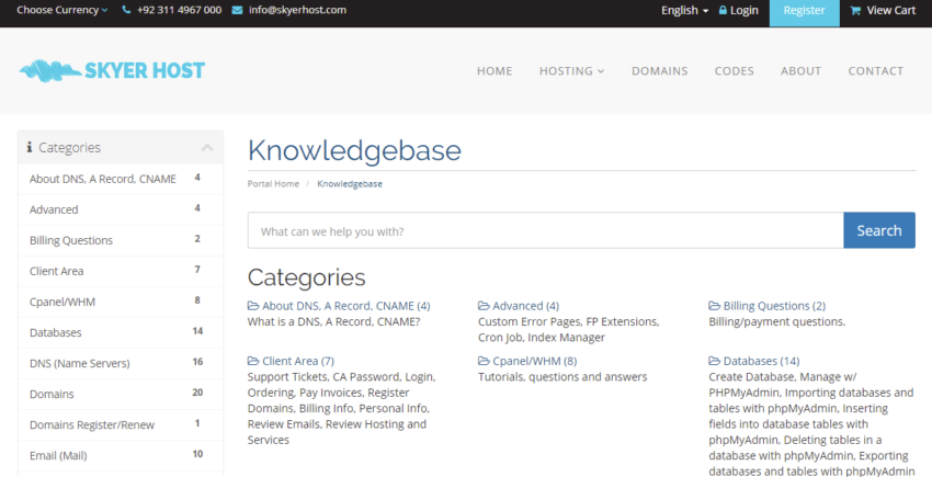 Skyer Host Knowledgebase