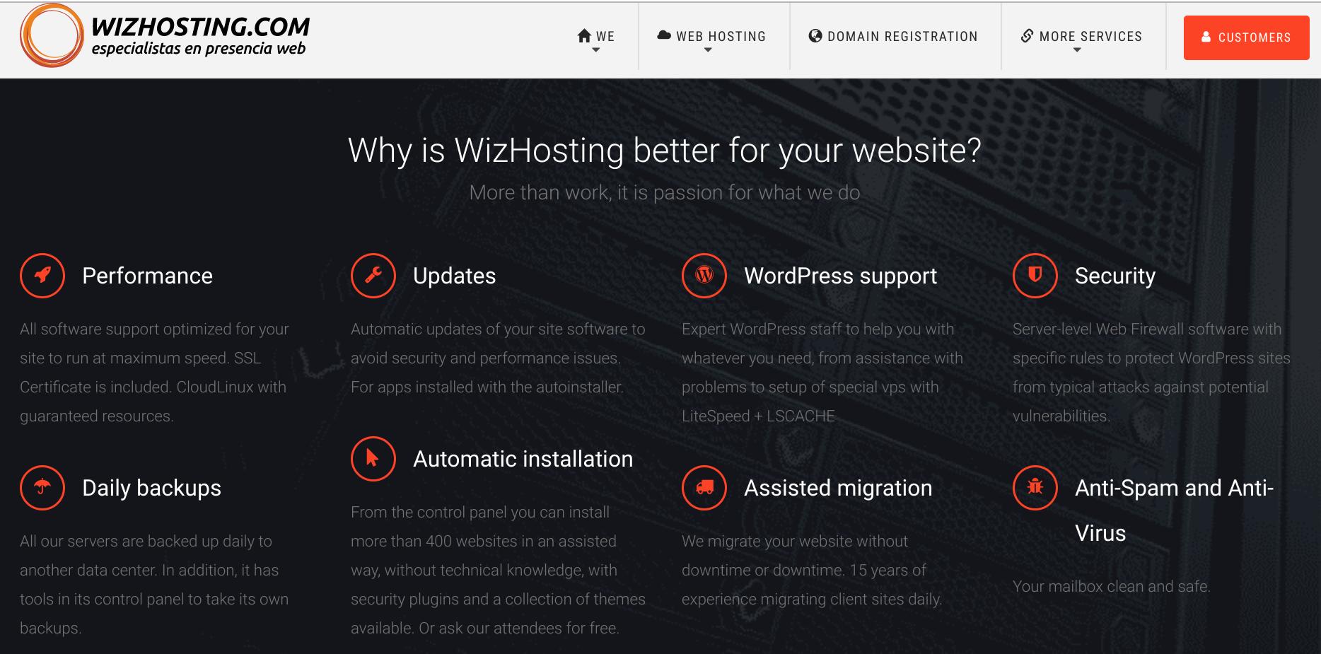 WizHosting