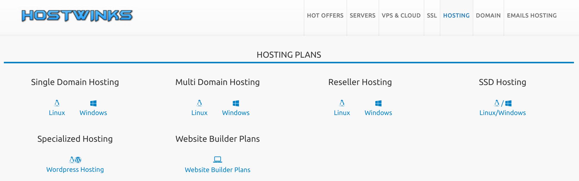 HostWinks