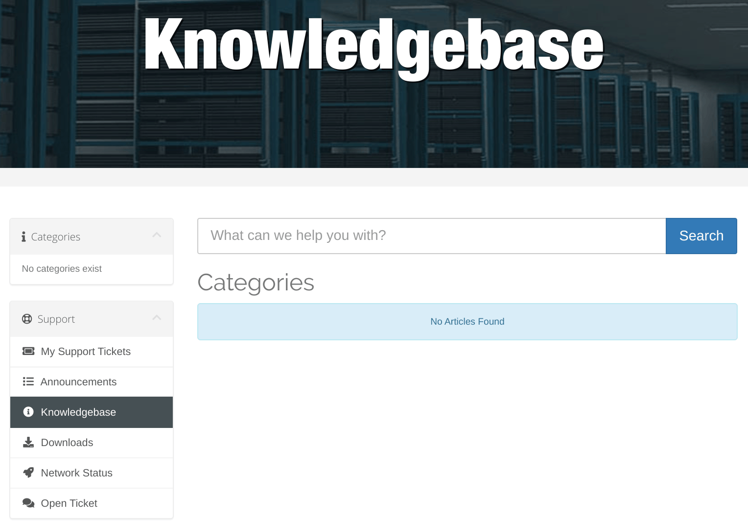 Web Host Sky Knowledgebase