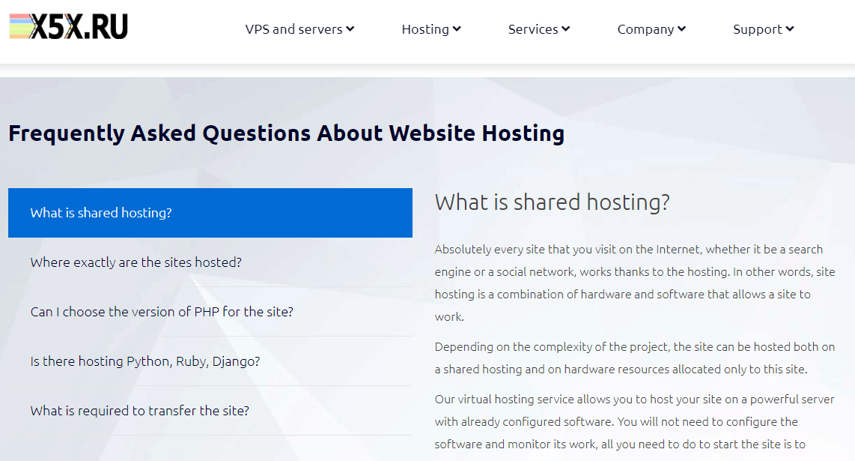 X5X Hosting