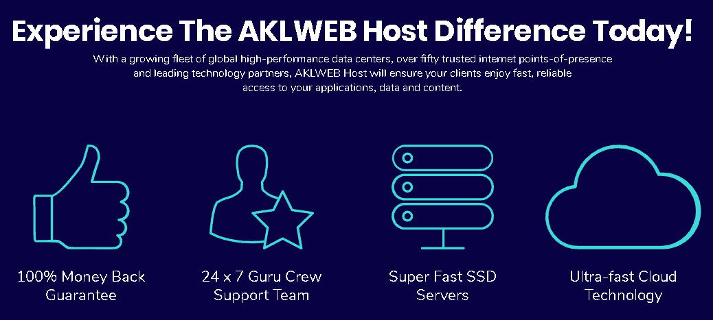 aklwebhost features