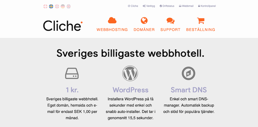 Swedish Hosting Comparison Page