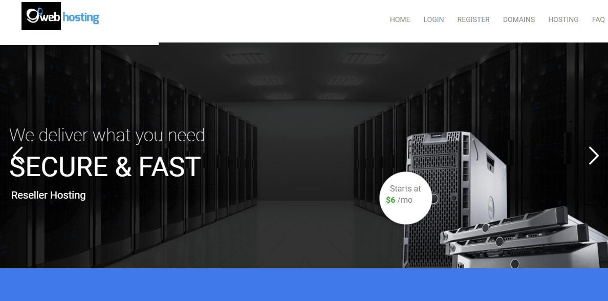 99 Web Hosting Overview