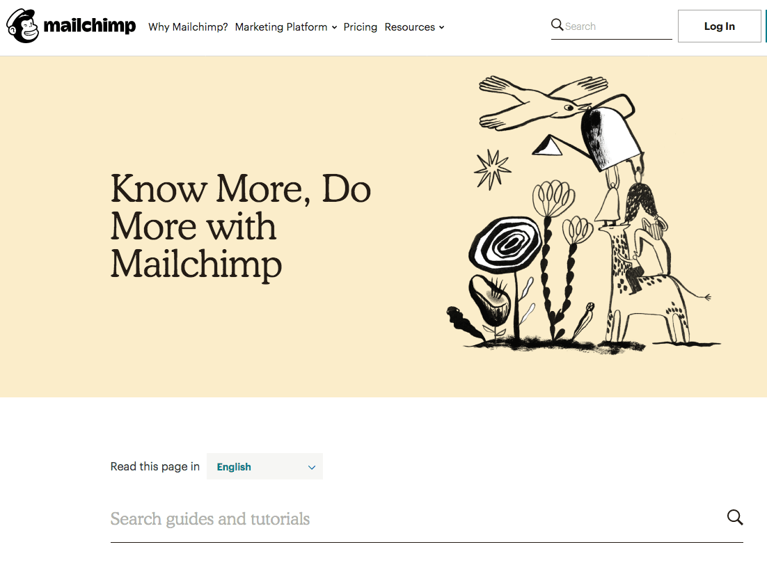 Mailchimp Website Builder guides and tutorials