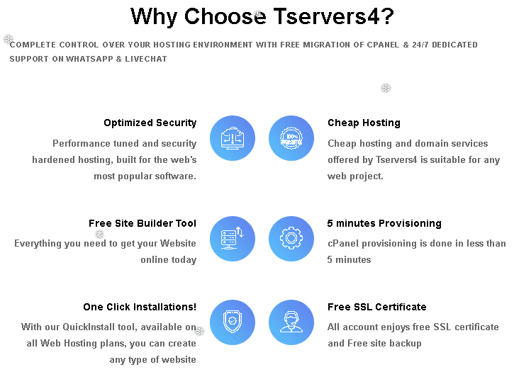 tservers4 features
