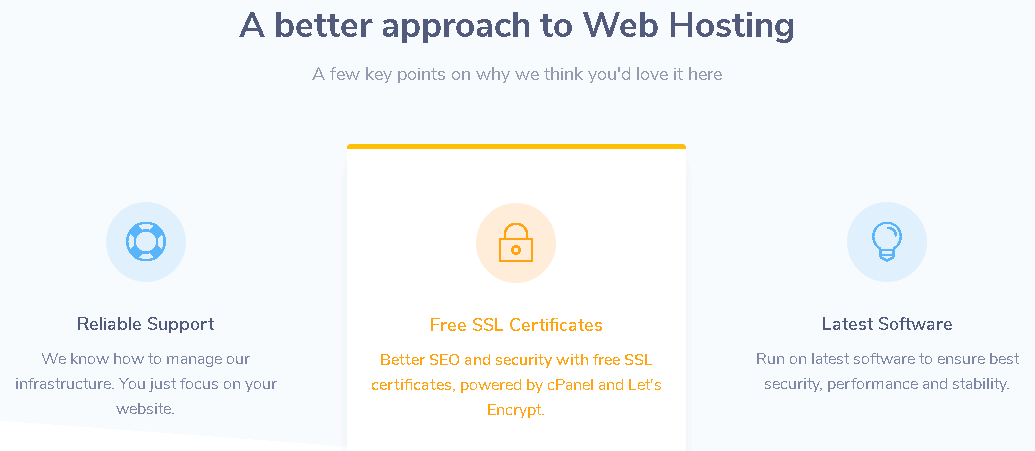 welovehosting features