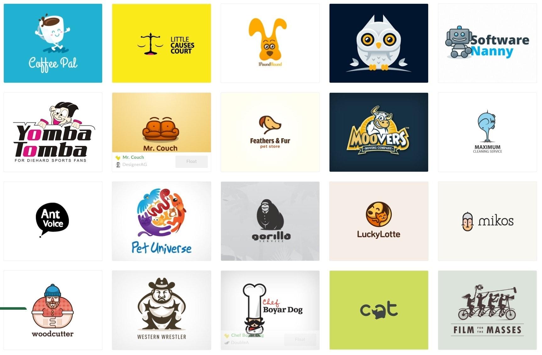 Logo Trends - Amusing/Funny/Adorable Logos