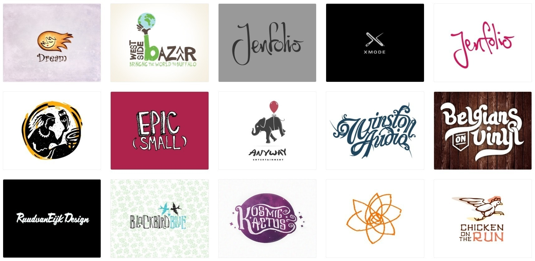 Logo Trends - Hand-Drawn Logos