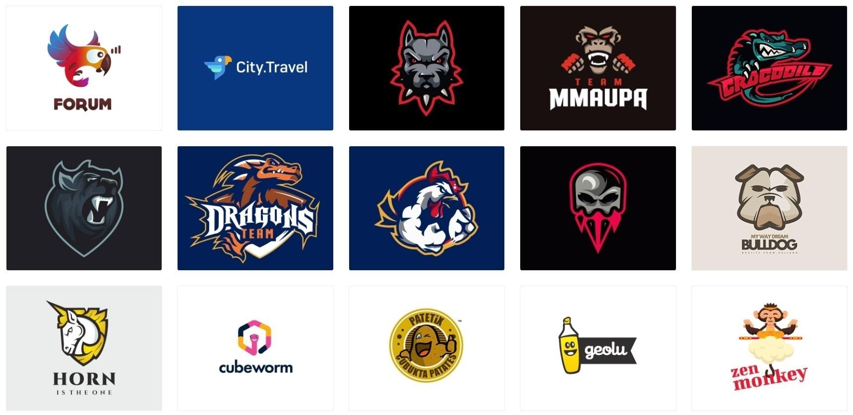 Logo Trends - Mascot Logos