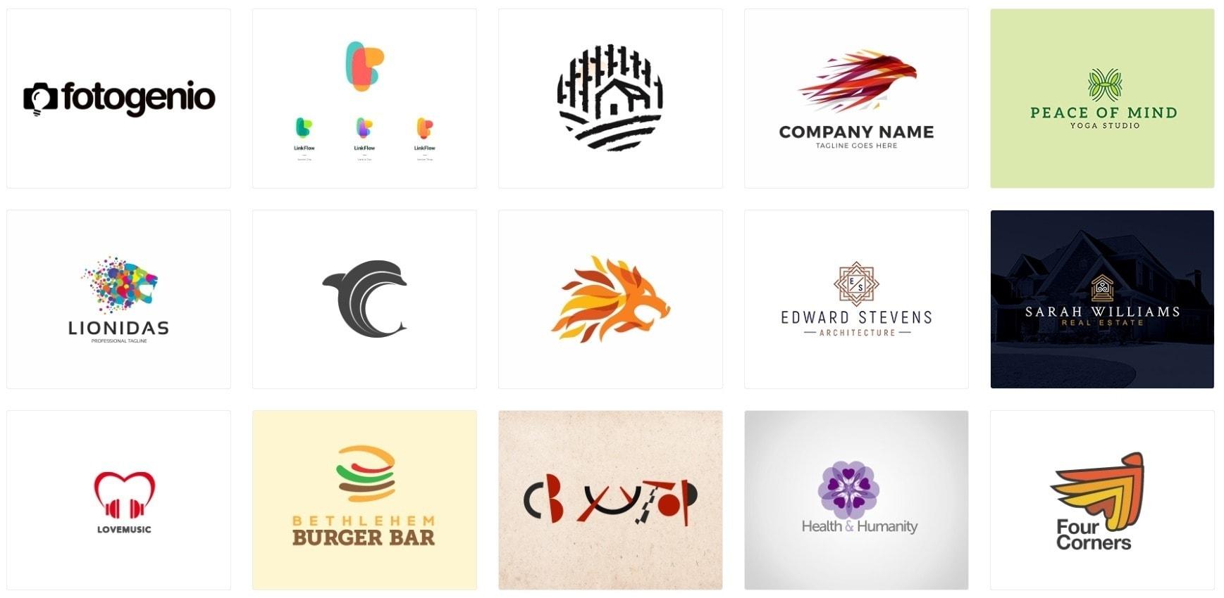Logo Design Trends - Pseudo-Abstract Logos