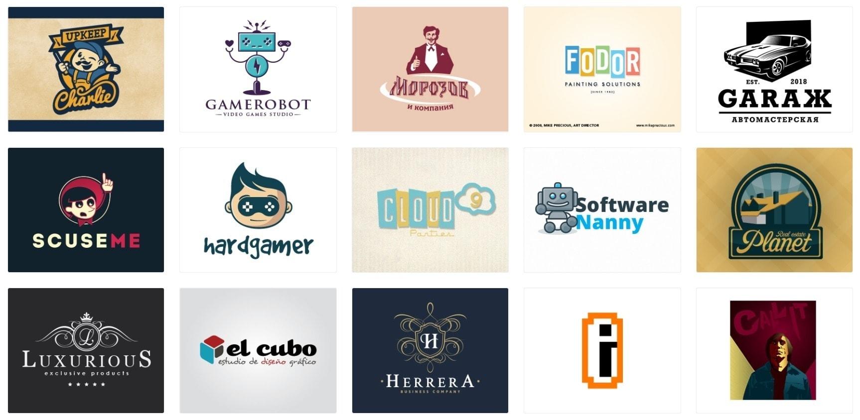 Logo Design Trends - Retro Logos