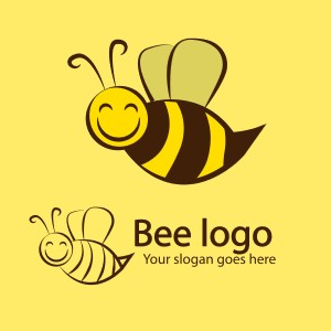 Bee logo - sample