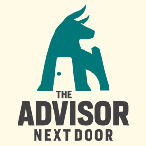 Bull logo - The Advisor Next Door