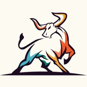 Bull logo - illustrated