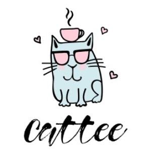 Cat logo - Cattee