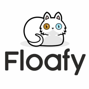 Cat logo - Floafy