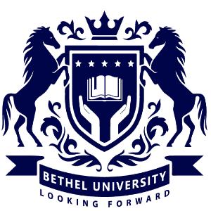 School logo - Bethel University
