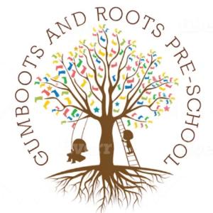 School logo - Gumboots and Roots Pre-School