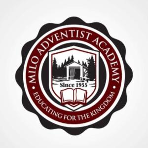 School logo - Milo Adventist Academy