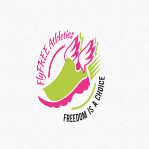 Shoe logo - FlyFREE Athletics