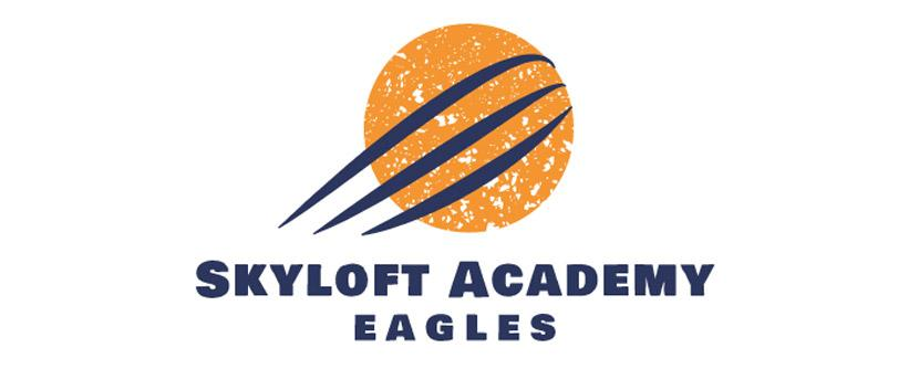 Sports logo made with Wix Logo Maker - Skyloft Academy Eagles