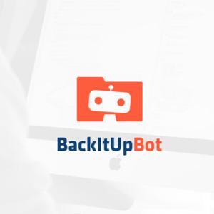 Technology logo - BackItUpBot