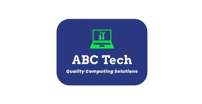 Technology logo created with Wix Logo Maker - ABC Tech