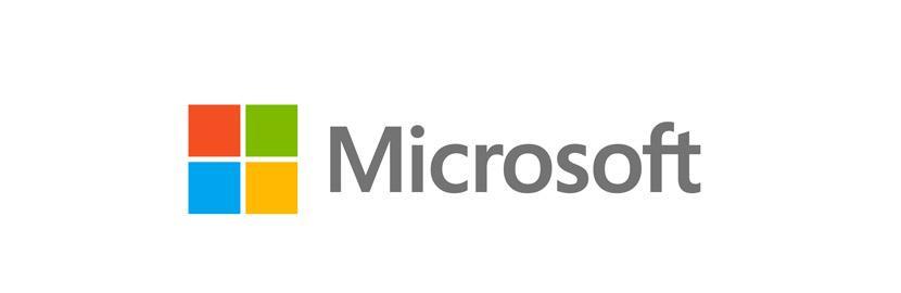 Technology logo - Microsoft