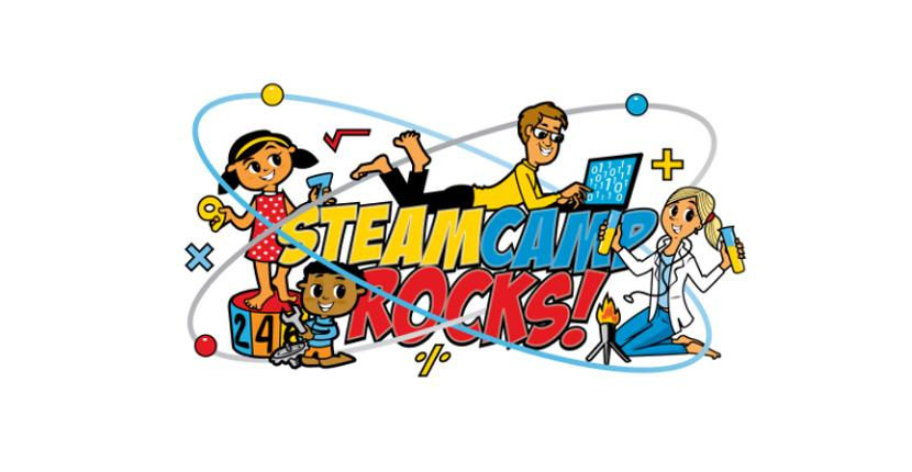 Technology logo - STEAM Camp Rocks!