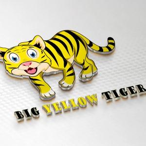 Tiger logo - Big Yellow Tiger