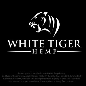 Tiger logo - White Tiger Hemp