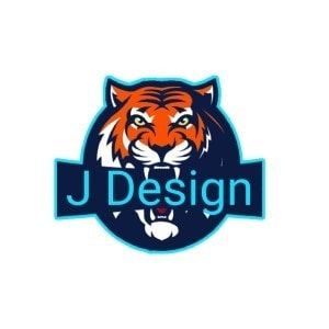 Tiger logo - J Design