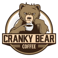 Bear logo - Cranky Bear Coffee
